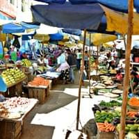 Colorful market of Antananarivo