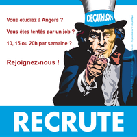 Flyer de recrutement