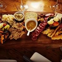Cheese and charcuterie board in Key west