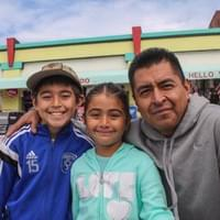 """Trying to cross the USA border on my own was probably the most challenging situation of my life. I starved, get deported, get kidnapped by a cartel, ... but I did it for them, my children. Now, I'm back. My son went to pick me up on the street; he was scared because I was really skinny. I was really dirty on my face. He didn't recognize me. It was hard.  I've lived here for 18 years and then after those years, I got deported to Mexico. I first came here when I was 11 years old, never came back until I was30. I got sent back. Since I did not know anybody in Mexico, I went through a lot of stuffs. I struggled for four years to come back here. I went in 2011 and I came back last year. It was hard, man. It was hard. I came back for my kids, Manuel and Olivia. He is 9 and she is 5.  I did it by myself. I crossed by myself. I just decided I am not going to hire no one, after trying many times. Being locked up in immigration for three months. I just decided by myself. Then I came and I made it. I did it by myself. I tried to cross from Mexicali. I came to the mountains, Tecate then I came to San Diego, in Campo, the hot springs area. That's why I made it to the Freeway and then I called my wife. I said,""Hey, I think am in the US"". She went picked me up on the freeway.  For 9 days, on the freeway, I was just going straight. I ran to a lot of people, a deer and people who hunted it. I ran to the people from the US army because they have camp base in the mountains in San Diego. I ran to them and they let me go. They gave me granula bars because I did have no food. I lost my bag on the first day. I lost my bag in the river. So, I had no food. I was just drinking water. I was weak. Like on my fifth day, I had no food, nothing. I could see people. I started seeing people like they were following me. It was a mess. I was starting to give up. Like every time, I fell asleep, I would dream about my kids then I would get up and keep on walking for another 2-3 hours and the same thing. I would get tired and I would go to sleep again. It was hard.   Yeah, it was tough. I never done any… like I said I live my whole life here, I didn't normally in Mexico. When I got sent back on Christmas, it was 2011, December 3rd. I got sent back the first time after 18 years. It was tough because my kids, you know. I was just working. I was coming back from San Diego to Los Angeles. I went to the checkpoint at San Clemente because I had no license or anything. The road patrol said, ""OK, you have to go to Mexico.""  I kept on trying to cross but I kept getting caught and sent back to a place like a jail but they keep you only for like three months, then six months, whenever time they want. I went a lot.   I ran to some people in the middle of mountains, they were bringing drugs across. They stopped me and asked if I was following them. I said I didn't know that I was running to a trail that was used by the cartel where they bring drug across and they thought I was spying on them. I said no, I was just trying to go to the US. They got their gun pointed at me and I said I swear to God I was just trying to cross. So, they said OK, stay here for five hours don't follow us. It was… I never experienced that way. I only see it on TV.   When I went to Mexico, I saw everything. What you see on TV is nothing; if you go to Mexico it's like ten times more. It's no game. They just harassing people who is going across, somehow they got the number from you, your information and start calling your family here, ""We have this macho, we're gonna kill him."" My wife, she got really stressed those years. She was getting called every month. They said they have me captured. They did it twice. They captured twice for two weeks, no food, nothing. They just want money, $5000 once and other time $5000 more. Right now, I am surviving. I came back and I, you know the bills and everything and now I spend more time with my kids.  I learned a lot but I think the biggest lesson in my life is; before, I didn't realize how important the family is. Now, I am a father and my kids are really important, to spend more time with and show them that life is beautiful. It's not just to born and to live but you also have to appreciate. I realize that because I was four years without them."""