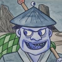 Aobōzu – The blue monk who kidnaps children.