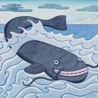 Namazu – The giant catfish that causes earthquakes.
