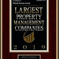 "2019 - Among the ""Largest Property Management Companies"" as determined by the OBJ"