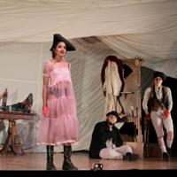 Polly Peachum in The Threepenny Opera (Photo by Cory Weaver)