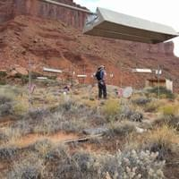 The Moab desert warming experiment