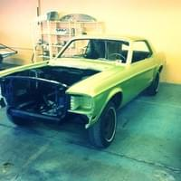 Mustang Code S Big Block 1968 toutes options