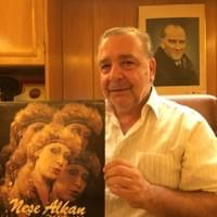 Muhteşem Candan - owner of Eleanor Plak with Neşe Alkan album