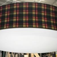 Custom 12' Diameter Drum Shade