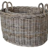 BAHAMA OVAL BASKET (SET OF 2)