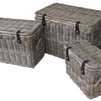 BAHAMA BLANKET BOX (SET OF 3)