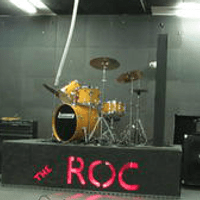 The Roc is a stage built directly in Rock School that the bands can perform on!