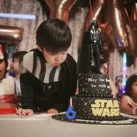 Star Wars themed Birthday Party Photography