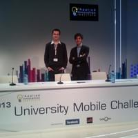 Representing ETH Zurich at University Mobile Challenge - MWC Barcelona 2012