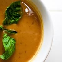 Bourbon Sweet Potato Bisque