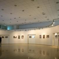 Show Install, 'Luminous Places' Exhibit at the State Museum of Painting and Sculpture, Izmir, Turkey, October 24-30, 2013
