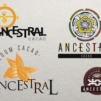 Alimento Heirloom Ancestral Cacao Logo Concepts