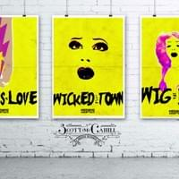 Hedwig and the Angry Inch Promotional Poster Series