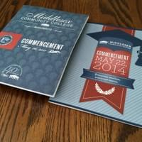 Middlesex Community College Commencement Covers