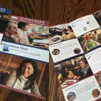 Middlesex Community College Direct Mail Recruitment Material