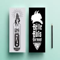 Famous Title Bookmark Series - Ozma of Oz & Belle au Bois Dormant (Sleeping Beauty)