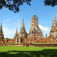 Ayutthaya. Thailand's ancient capital