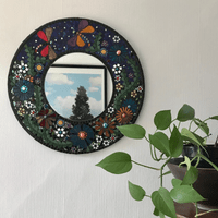 Dragonfly Hall Mirror, 50 cms