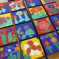 Acrylic canvases for Mothers' Day