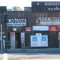 The iconic Winchester Store in Winchester CA