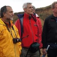 From left to right: Mauro Coltorti, Pierluigi Pieruccini and Markus Fiebig during the fieldtrip of the last SEQS Meeting in Ekaterinburg (2014, Russia)