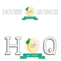 House of Quince logo design