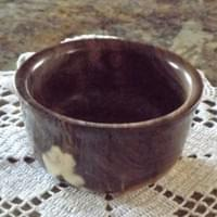 5 1/2x 2 3/4  Walnut Bowl  $37.80