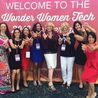 Speakers at Wonder Women Tech in Long Beach, CA 2016
