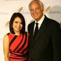 Kathy David with CO-Founder of Chicken Soup for the Soul Book Series, Jack Canfield.