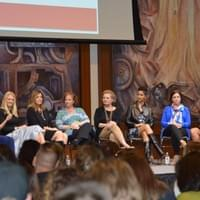 Was a panel speaker at the Women in Entrepreneurship event at San Diego State University, February 2018
