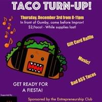 Taco Turn-Up Flyer 2015