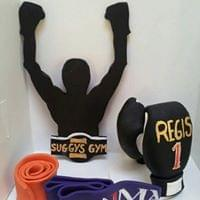 Toppers for boxing fan