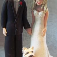 Couple with scotty dog