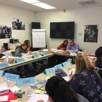 NAMI Basics in Spanish Teacher Training taught by our very own Rosa Alvarez, state trainer & NAMI Urban LA's Spanish Program Outreach Coordinator.