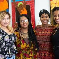 NAMI staff members with Actress, Writer & Author Charmel Catrell (2nd from the right)