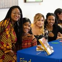 NAMI staff members with Actress, Writer & Author Charmel Catrell (2nd from the left)