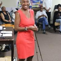 Our fabulous workshop moderator, Monique Ruffin.