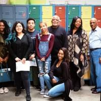 Attendees at our 1st Volunteer Orientation on Sat, April 7, 2018 posing with NAMI Urban LA's Director of Programs, Harold Turner, who is 2nd from the right.