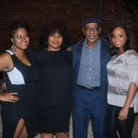 From left to right: Marguerite Alexis, guest, Harold Turner, and Natalie Cadét .
