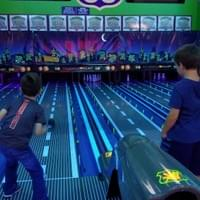 Brayden Bowling with Mason