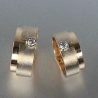 pt950 22kYG 18kYG 0.2ct diamond