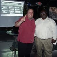 I am with my buddy DJ  Tosh Jackson from the KHHM Hot 103.5 and KNTY 101.9 The Wolf!