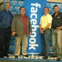 Attending Facebook's Event with Friend's and business Owners.