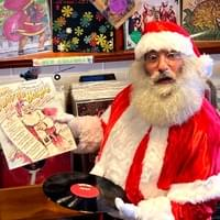 Santa at the Vintage Record