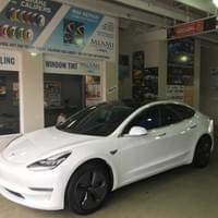 3M Tesla window tinting Miami 33131, 3M Tesla window tinting Miami Beach 33139