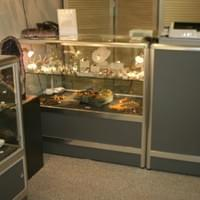 Jewellery display cabinets with halogen lighting.  All chosen from our Select Plus range.